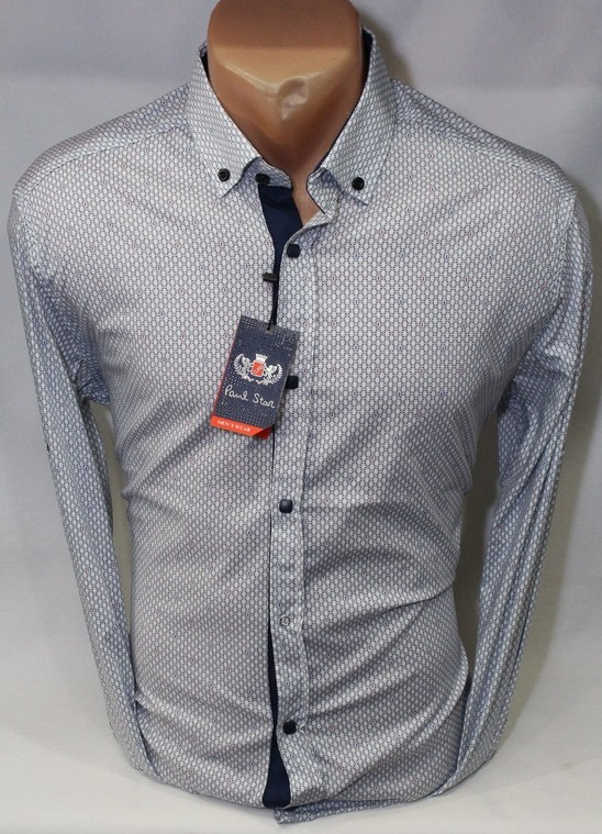 Рубашки PAUL STAR мужскиеТурция оптом 53620748