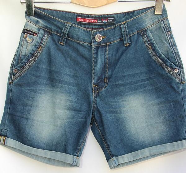 Шорты джинсовые мужские оптом 89462703 25030