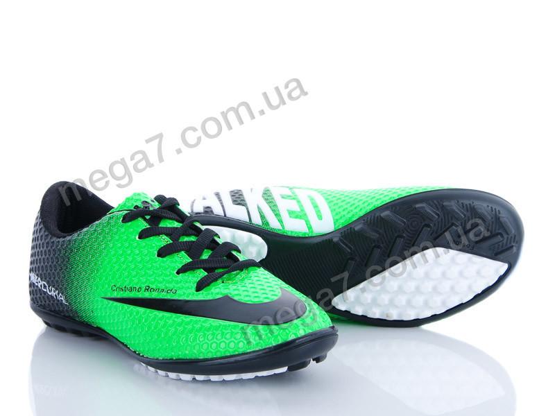 Футбольная обувь, Walked оптом 150 Walked 101 yesil-siyah h.s f