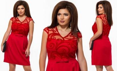 Платья женские батал оптом 67802953 991-195