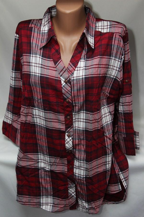 Рубашки женские оптом 2103651 6119-1