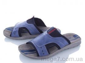Шлепки, DeMur оптом M6133 blue