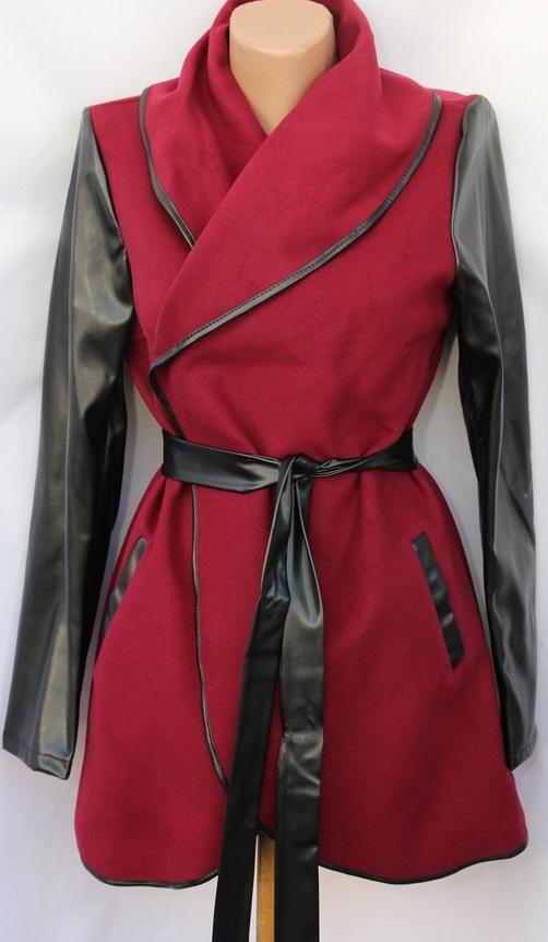 Пальто женское полубатал оптом 35469108 007-1-4