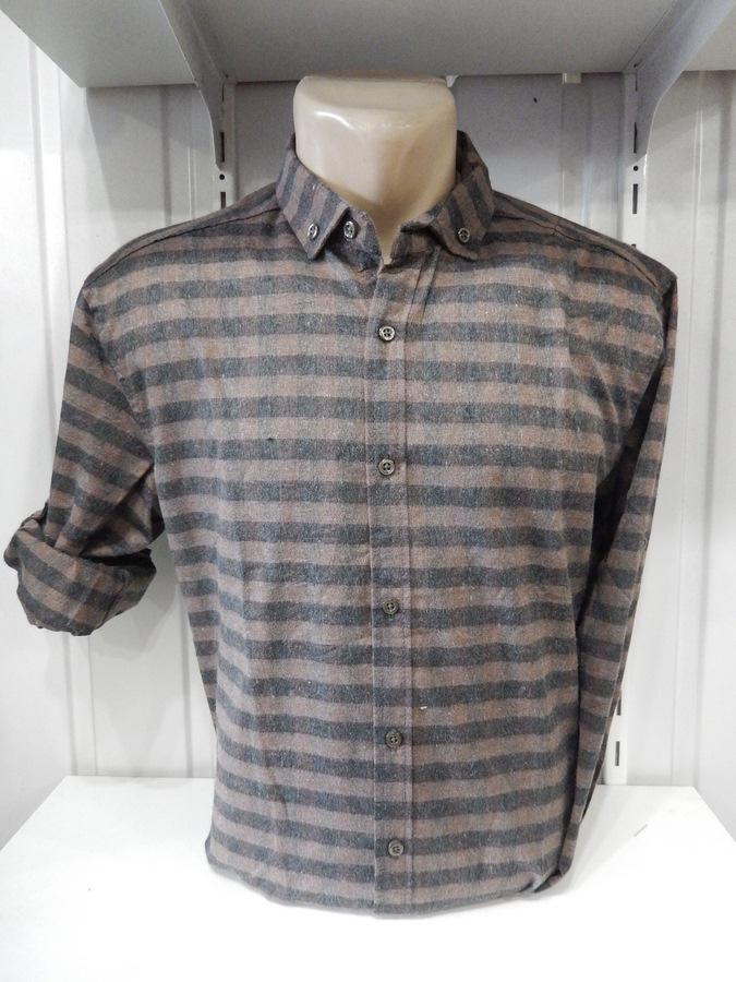 Рубашки мужские оптом 15101830 0222-56