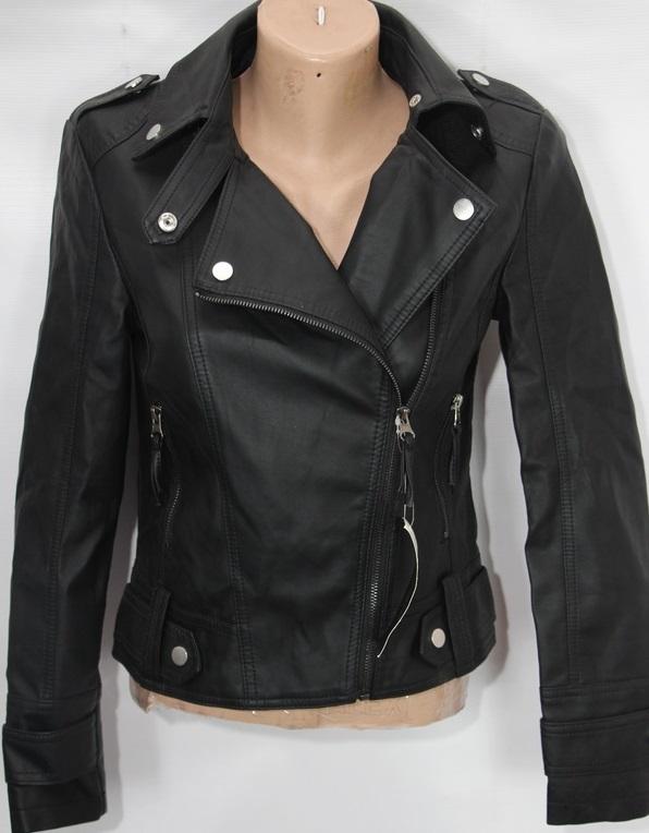 Куртки-косухи женские кожзам оптом 38491206 AW-012