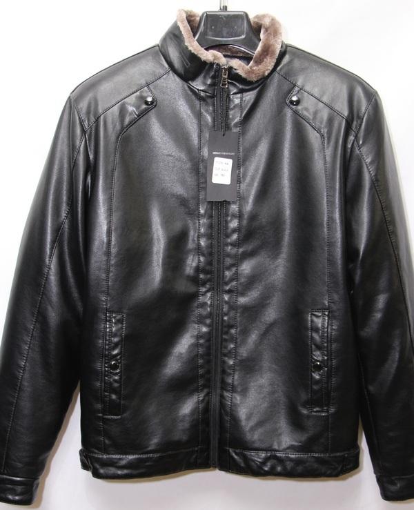 Куртки мужские чёрные оптом 17091052 А4-6-1
