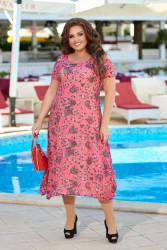 Платья женские БАТАЛ оптом 26780394 05-17