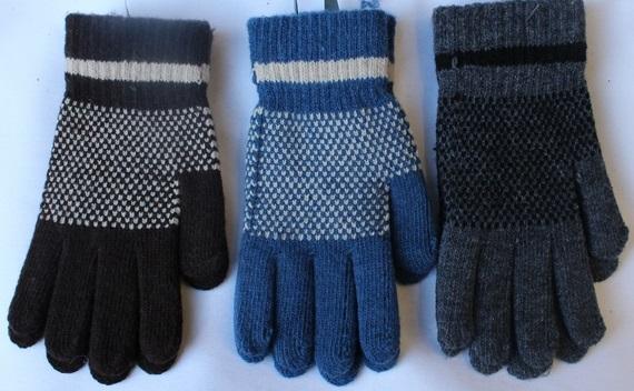 Перчатки детские ( на мальчиков ) оптом 51602397 E1731-2-1