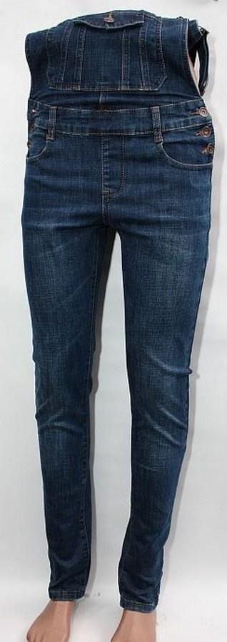 Комбинезоны джинсовые женские оптом 35271890 6266-1