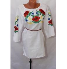 Вышитое платье женское оптом 1307782 019