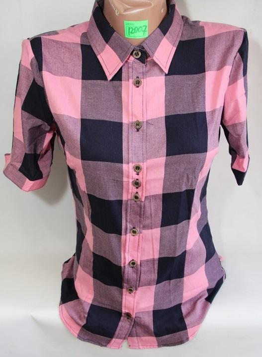 Рубашки женские QIANZHIDU Турция оптом 01325967 12007-52