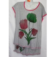 Женская ночная пижама Батал 43609812 060