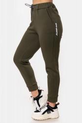 Спортивные штаны женские на флисе оптом 72651403 11-61