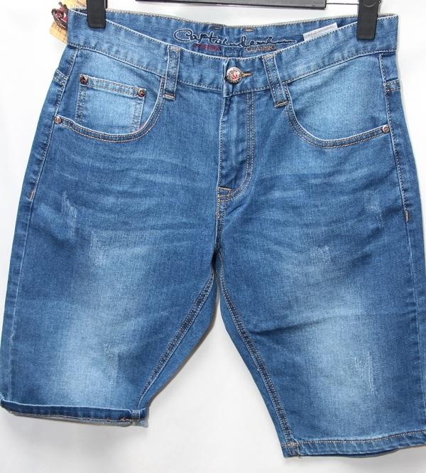 Шорты джинсовые мужские оптом 63495701 7606