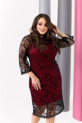 Платья женские БАТАЛ оптом 46750298 2230-5