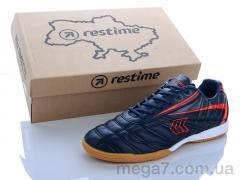 Футбольная обувь, Restime оптом DMB20616 navy-d.red