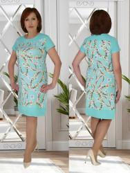 Платья женские БАТАЛ оптом 69370218   553-3