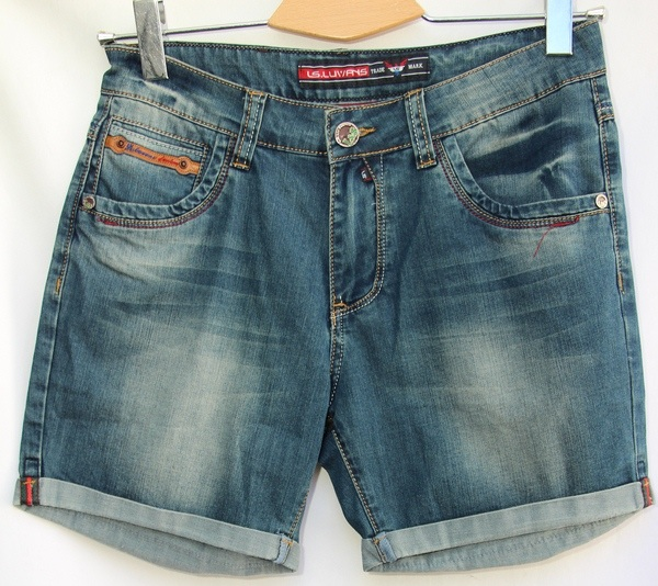 Шорты джинсовые мужские оптом 10061683 25017