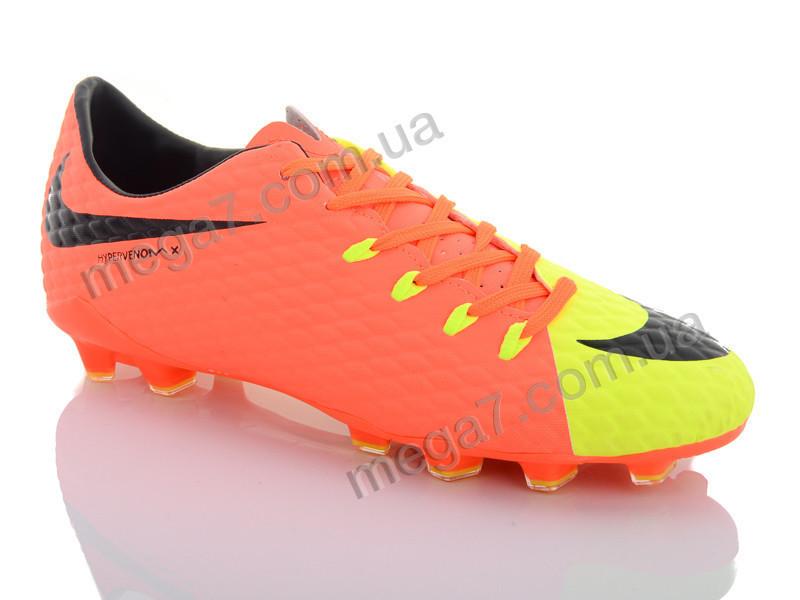Футбольная обувь, Enigma оптом 170 orange