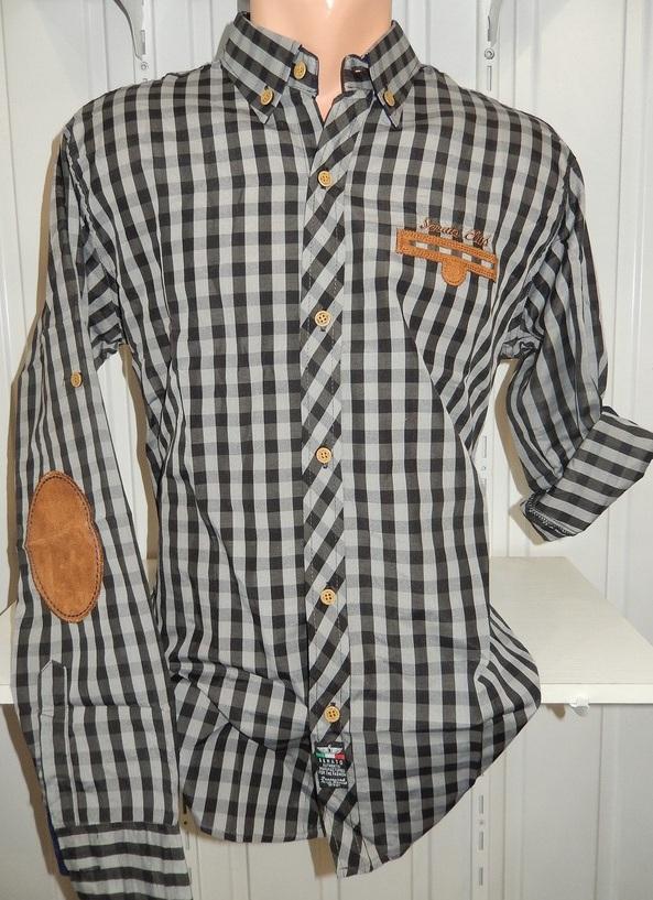Рубашки мужские полу батал оптом 13081830 5210-10
