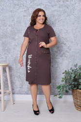 Платья женские БАТАЛ оптом 90283564  171-2