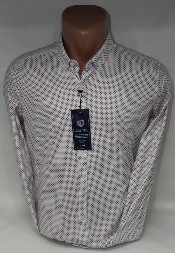 Рубашки мужские  оптом 27074721 9307-4