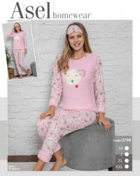 Ночные пижамы женские ASEL оптом 57943216 2798-2