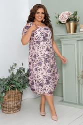 Платья женские БАТАЛ оптом 91748256 003-19