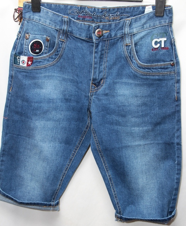 Шорты джинсовые юниор оптом 46859701 7602