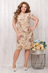 Платья женские БАТАЛ оптом 46837920  68-2