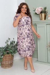 Платья женские БАТАЛ оптом 60231487 09-30