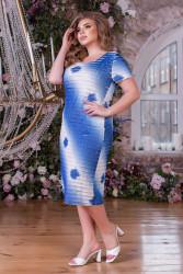 Платья женские БАТАЛ оптом 34068527 08-16