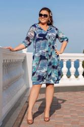 Платья женские БАТАЛ оптом 86942371 1-15