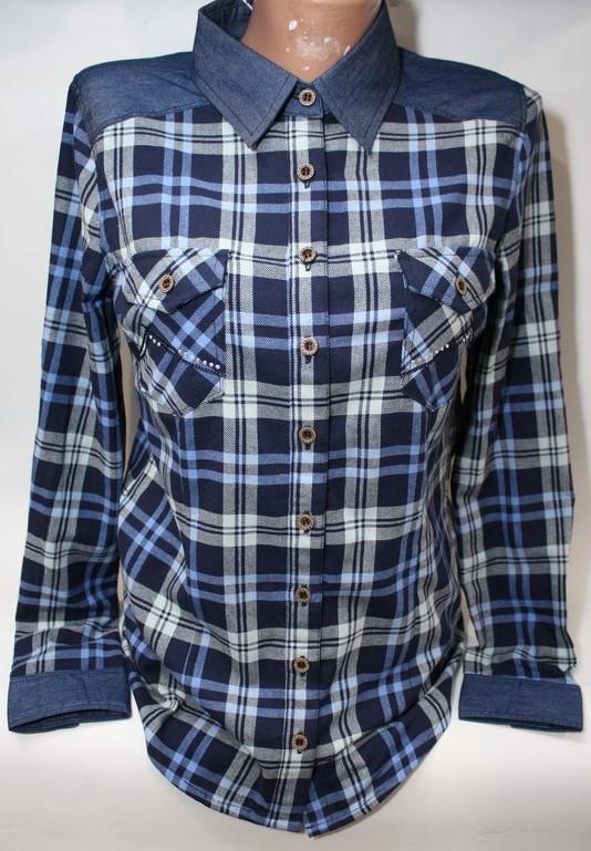 Рубашки женские оптом 75120369 10026-1