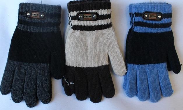 Перчатки детские ( на мальчиков ) оптом 26037841 E1727-25
