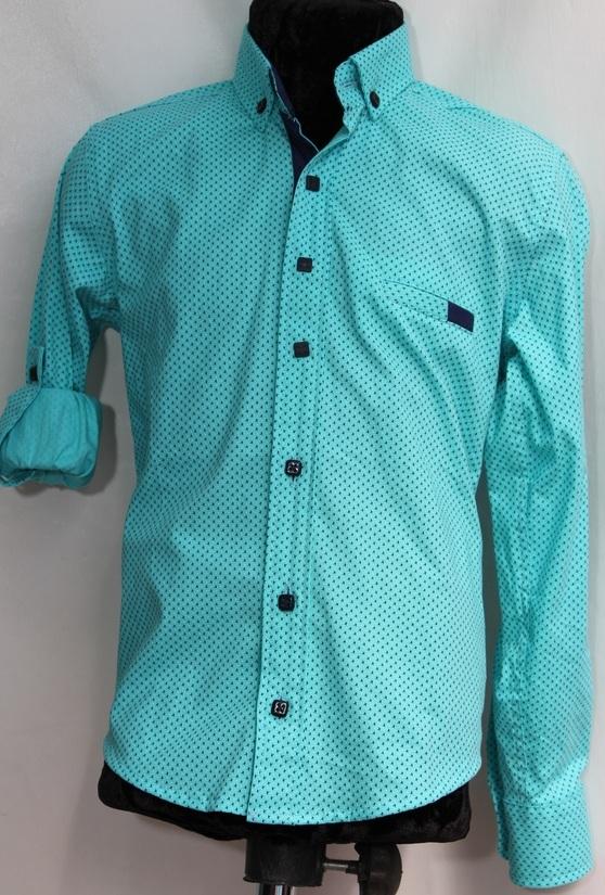 Рубашки подростковые  оптом 17071390 6445-146