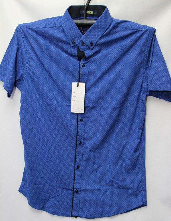 Рубашки мужские Турция оптом 2004523 3636-53
