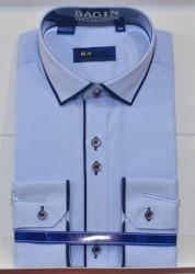 Рубашки мужские  оптом 76812304  BAG 89-3-26