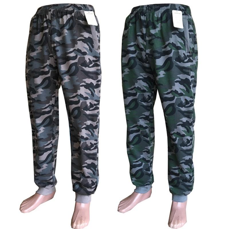 Спортивные штаны мужские камуфляж оптом 03461952 4367
