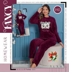 Ночные пижамы женские FANCY оптом 71309842 9163 -5