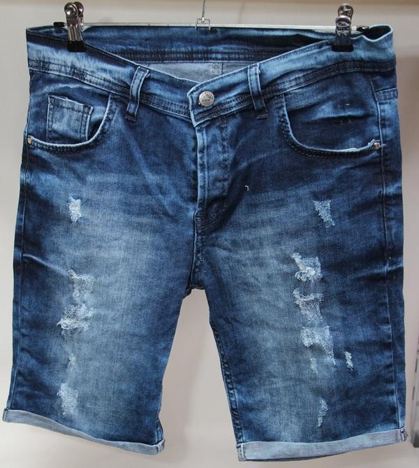 Шорты джинсовые мужские Турция оптом 2005531 062-01-2