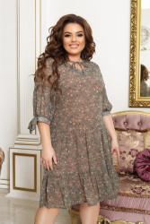 Платья женские БАТАЛ оптом 68371502  185-6