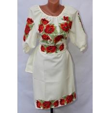 Платье вышитое женское оптом 1307782 003