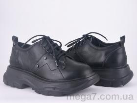 Туфли, Violeta оптом 166-27 black-3K