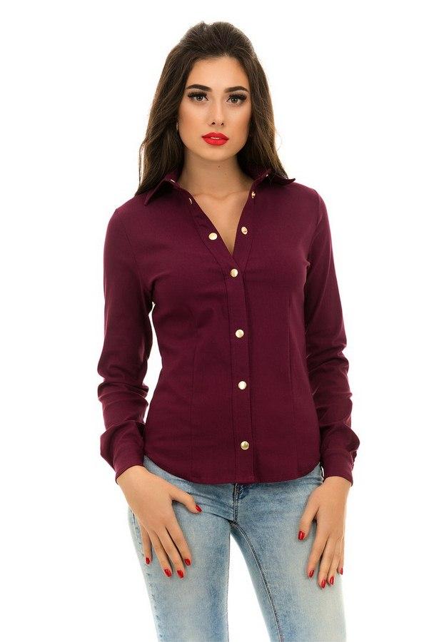 Рубашки женские оптом 14789302 4071-20