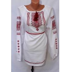 Платье вышитое женское оптом Ручная работа 1307782 011