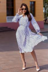 Платья женские БАТАЛ оптом 56084327  1127-2