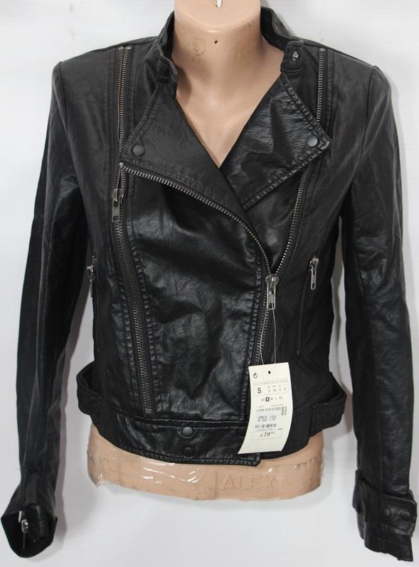Куртки-косухи женские кожзам оптом 16709528 1705/1