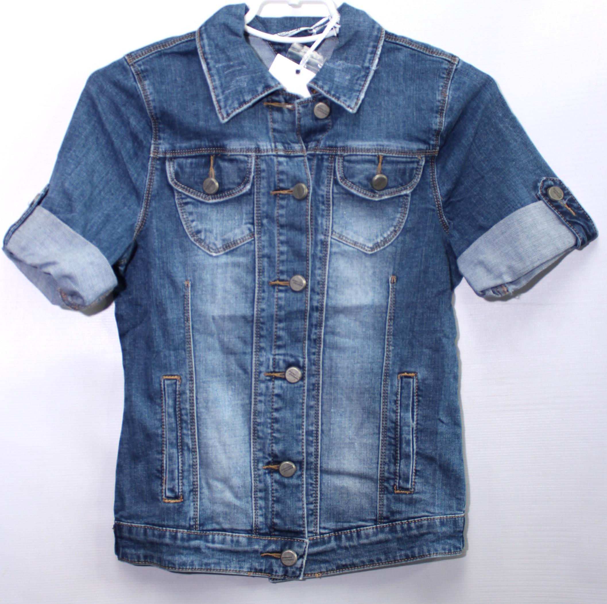 Куртки джинсовые женские ZIJINYAN  оптом 03859761 808