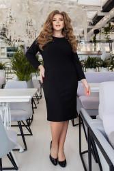 Платья женские БАТАЛ оптом 93647208 03-5